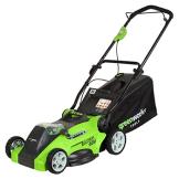 Greenworks Tools 40V Akku Rasenmäher Test